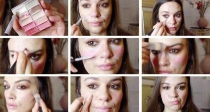 Как с помощью макияжа скрыть морщины носогубные