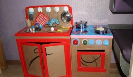 Konyha a gyermek kezét műhely és ötletek