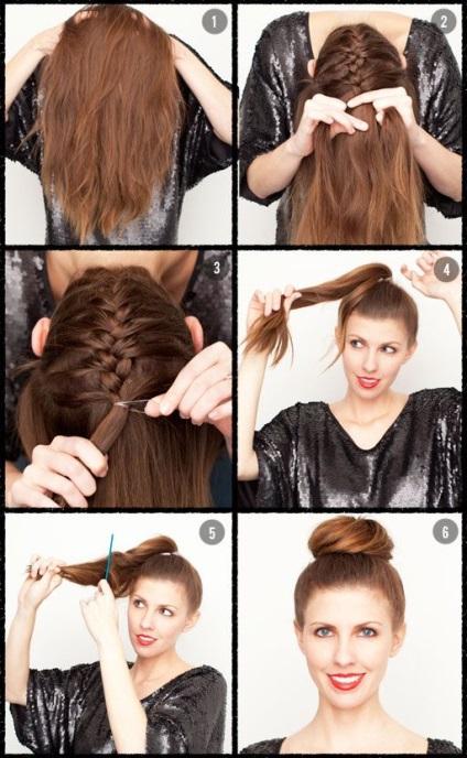 Простые причёски на длинные волосы своими руками в домашних 78