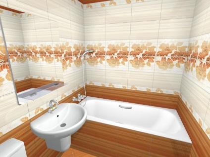 """fürdőszoba tervezés segítségével csempe Kenzo """"jade-kerámiák"""""""