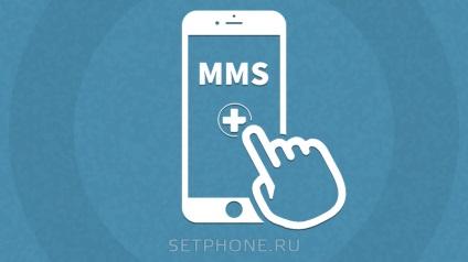 Hogyan hozzunk létre MMS az iPhone 6 - lehetővé teszi az MMS az iPhone