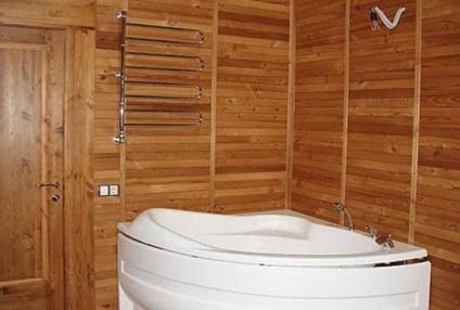 Díszítő fürdőszoba műanyag panelek fotó-design javítás pvc