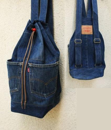 Что можно сделать из старых джинсов своими руками для девочки 17