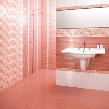 Javítása csempe a fürdőszobában - lépésről lépésre hibaelhárítási