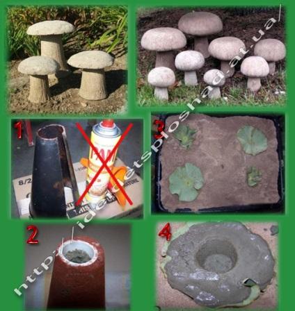 Что можно сделать для сада из цемента своими руками 33