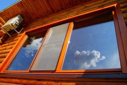 Melegítő veranda belül a falak, a padló, a mennyezet, ajtók és ablakok