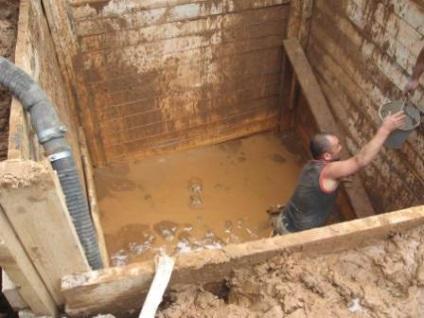Magas talajvíz építkezés