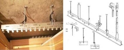Монтаж реечных потолков cesal своими руками 4
