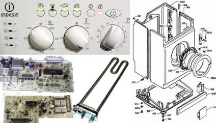 Стиральная машина индезит wisl 92 неисправности ремонт своими руками 46