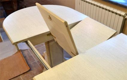 Выдвижной раскладной столик своими руками 37