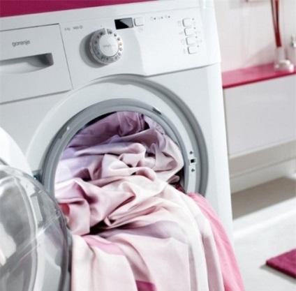 Як прати штори, фото