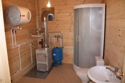 Как сделать теплый туалет в частном доме своими руками 6