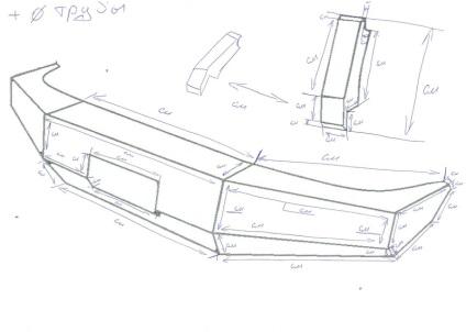 Силовой бампер на ниву своими руками чертежи и фото 52