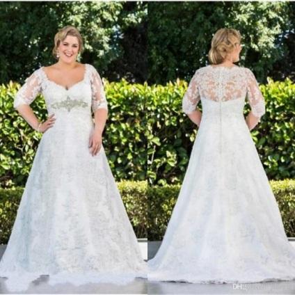 Невесты больших размеров фото