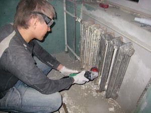 Mit és hogyan kell festeni a radiátor, amely festékkel festeni a fűtőtest - egy könnyű dolog