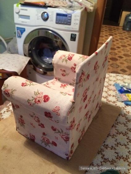 Мебель для кукол своими руками из подручных материалов 33
