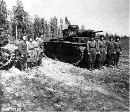 """Mint egy tank """"Klim Vorosilov"""" megállt a német hadsereg"""