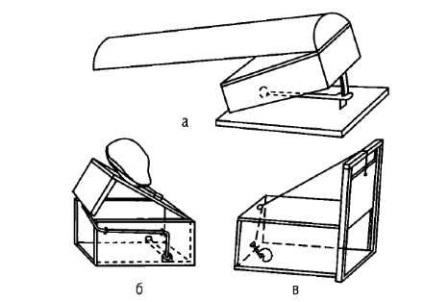 Ловушка для лисы своими руками из сетки чертеж 19