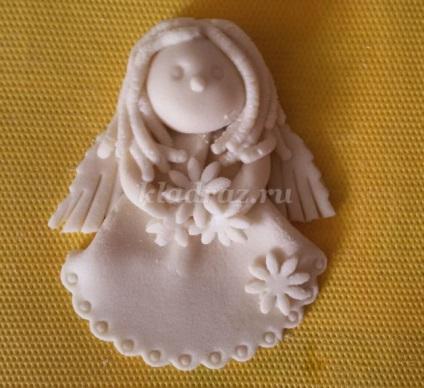 Ангелочек из солёного теста своими руками 98