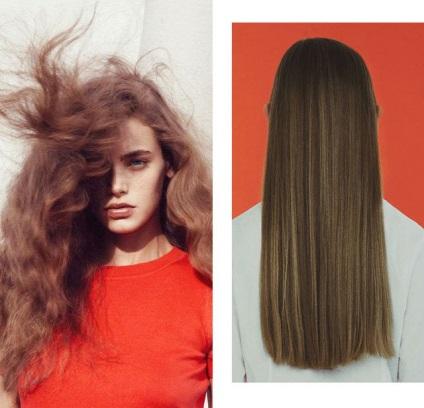 Как сделать свои волосы прямыми 390