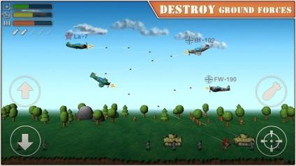 Sky aces 2 - стань пілотом повітряної війни!