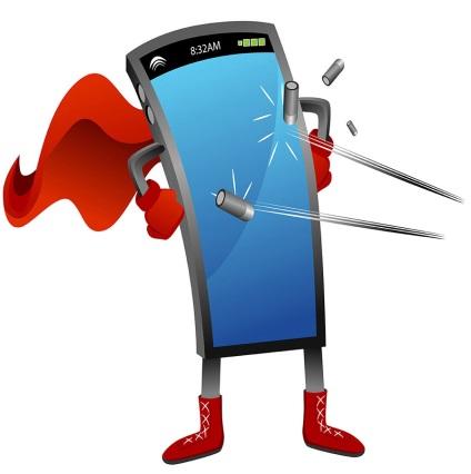 Скло для смартфонів - «горила» проти «дракона» і сапфіра