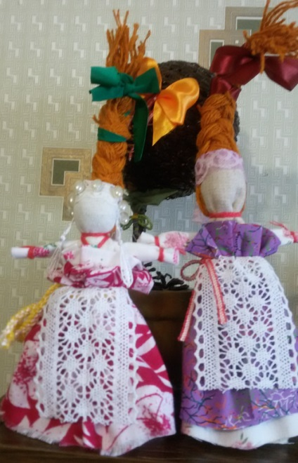Doll amulett tegezeslégy saját kezét - a varázsló lépésről lépésre osztály, baba készítő