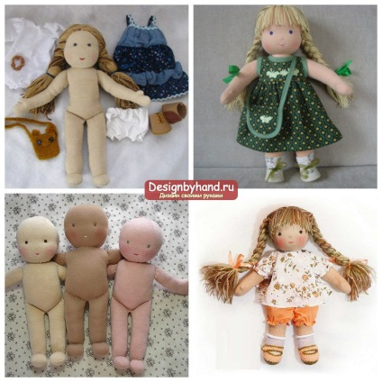 Мягкая кукла из ткани своими руками. Мастер-класс с пошаговыми