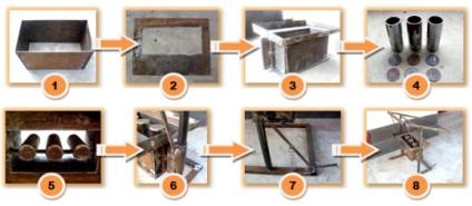 Производство керамзитобетонных блоков своими руками 75