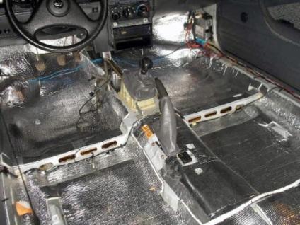 Hangszigetelés autóba