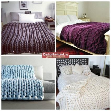 Покрывало на кровать вязание 36