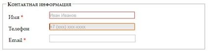 HTML5, formában érvényesítési