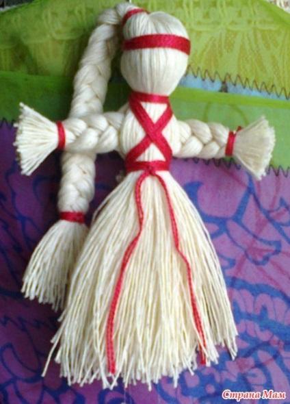 Кукла-мотанка из ткани: значение оберега и техника изготовления своими