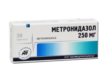 Метронидазол при гастродуодените