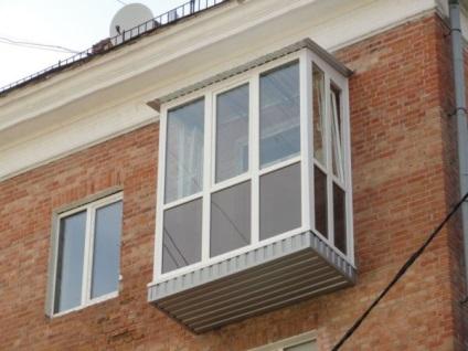 Балкон пластиковый в караганде. остекление балконов купить в.