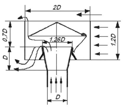 Дефлектор н-образный на дымоход своими руками чертежи 21