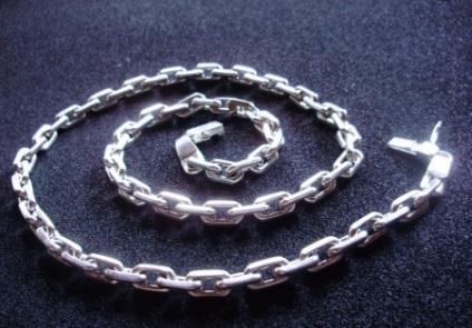 Срібна чоловіча ланцюжок Бісмарк (33 фото) види плетінь з срібла для чоловіків