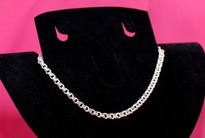Срібна ланцюг Бісмарк - ідеальне прикраса як для чоловіків, так і для жінок