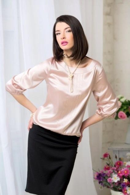 Купить Женскую Шелковую Блузку