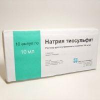 Nátrium tioszulfát a paraziták tisztításához - Férgek tioszulfát