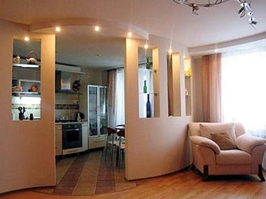 design a konyha-nappali 16 négyzetméteres