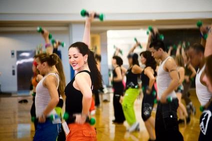 Hogyan kell viselkedni egy fitness club