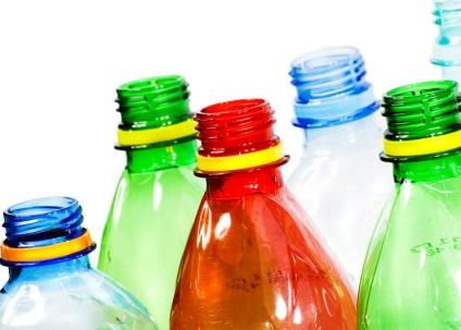 Ágyak a kezüket a műanyag palackok - fotók és mesterkurzus