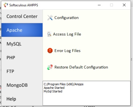 Локальний веб-сервер ampps де скачати, як встановити та налаштувати сервер ampps на windows 10, блог