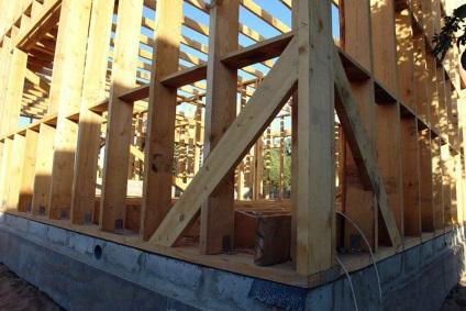 Каркасно-щитовая пристройка к деревянному дому своими руками