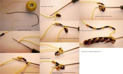 Вязание жгутов из бисера мастер класс с пошаговым 97
