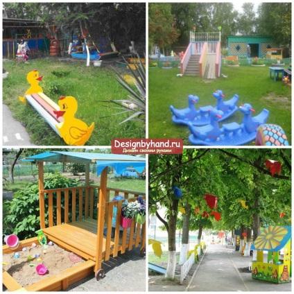Идеи для детского сада для площадки своими руками 17
