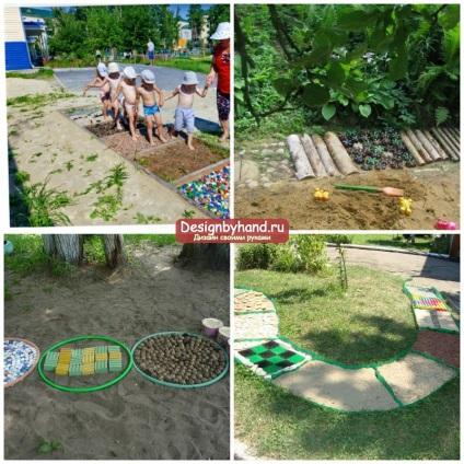 Оформление детские участки в детском саду своими руками 709