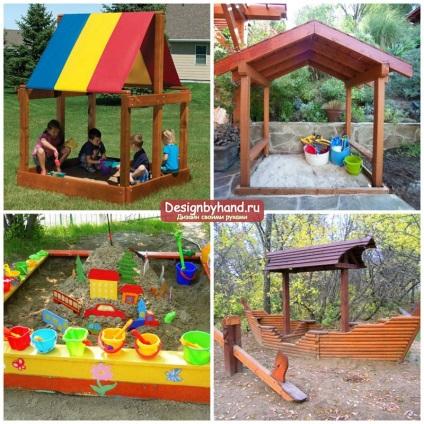 Оформить детскую площадку в саду своими руками 682