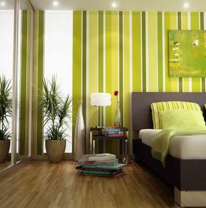 hálószoba képek a legjobb ötletek belsőépítészeti árnyalatú zöld ...